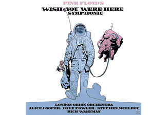 The London Orion Orchestra, Alice Cooper, Dave Fowler, Stephen Mcelroy, Rick Wakeman - Pink Floyds Wish You Were Here Symphonic - (CD)