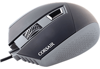 CORSAIR CH-9000095-EU, Katar Optical Gaming-Maus, kabelgebunden, Schwarz