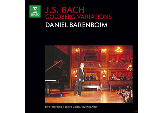 Daniel Barenboim - Goldberg-Variationen - (CD)