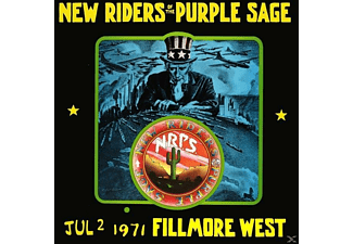 New Riders Of The Purple Sage - Jul 2 1971, Fillmore West - (CD)