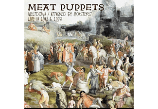 Meat Puppets - Meltdown/Attacked By Monsters Live In 1988 & 199 - (CD)