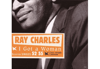 Ray Charles - I GOT A WOMAN / SEL. SINGLES 52-55 - (CD)