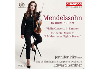 Cbso And Cbso Youth Chorus Conducted By Edward Gardner - Mendelssohn In Birmingham Vol.4 - (SACD Hybrid)