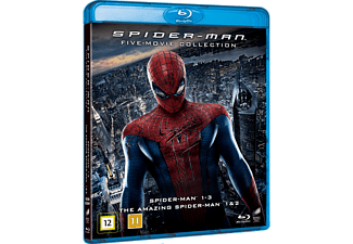 Spider-Man 5-Movie Collection Action Blu-ray