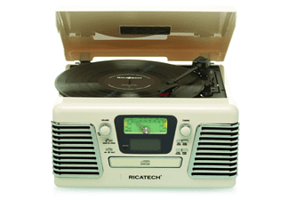 RICATECH RMC100 5 in 1 Music Center beige
