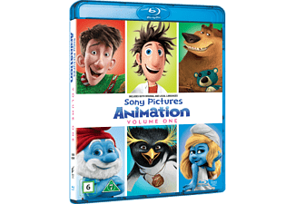 Sony Pictures Animation Volume 1 Box Animation / Tecknat Blu-ray