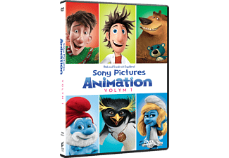 Sony Pictures Animation Volume 1 Box Animation / Tecknat DVD