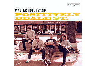 Walter Trout Band - Positively Beale Street (CD)
