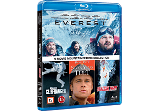 4 Movie Mountaineering Collection Äventyr Blu-ray