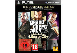 Grand Theft Auto IV Complete Essentials & Episodes From Liberty City PS3