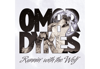 Omar Dykes - Runnin' with The Wolf (CD)