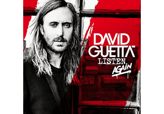 David Guetta Listen Again CD