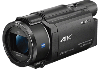 SONY FDR-AX53  Camcorder, Exmor R CMOS Sensor, Carl Zeiss, 20x opt. Zoom, Bildstabilisator, Near Field Communication, WLAN, Schwarz