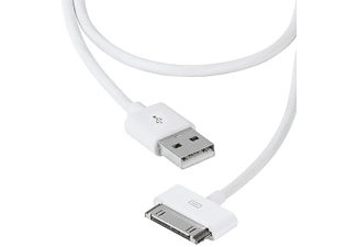 VIVANCO VIVANCO 35470 30-pins-USB-kabel 1,5 m wit