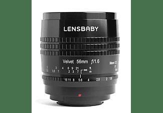 Lensbaby Velvet 56 Black Sony E-Mount