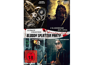 Bloody Splatter Party - Ultimate Collection - (DVD)