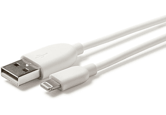 Lightning-naar-USB-kabel 1.2m Wit