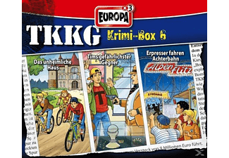 TKKG Krimi-Box 06 - (CD)