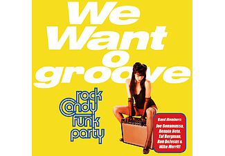 Rock Candy Funk Party - We Want Groove (Vinyl LP (nagylemez))