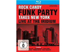 Rock Candy Funk Party - Takes New York - Live At The Iridium - Limited Edition (CD + Blu-ray)