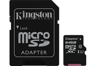 KINGSTON microSDXC UHS-I Class 10 64GB