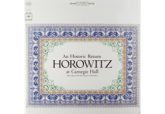Vladimir Horowitz - An Historic Return (Horowitz At Carnegie Hall) - (Vinyl)