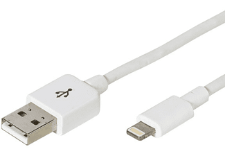 VIVANCO 33902 Lightning-USB-kabel 1,5 m wit