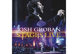 Josh Groban - Stages Live - (CD + Blu-ray Disc)
