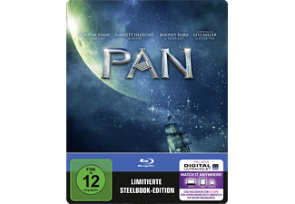 Pan (Exklusive Steel-Edition) - (Blu-ray)