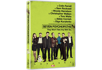 Seven Psychopaths Action DVD