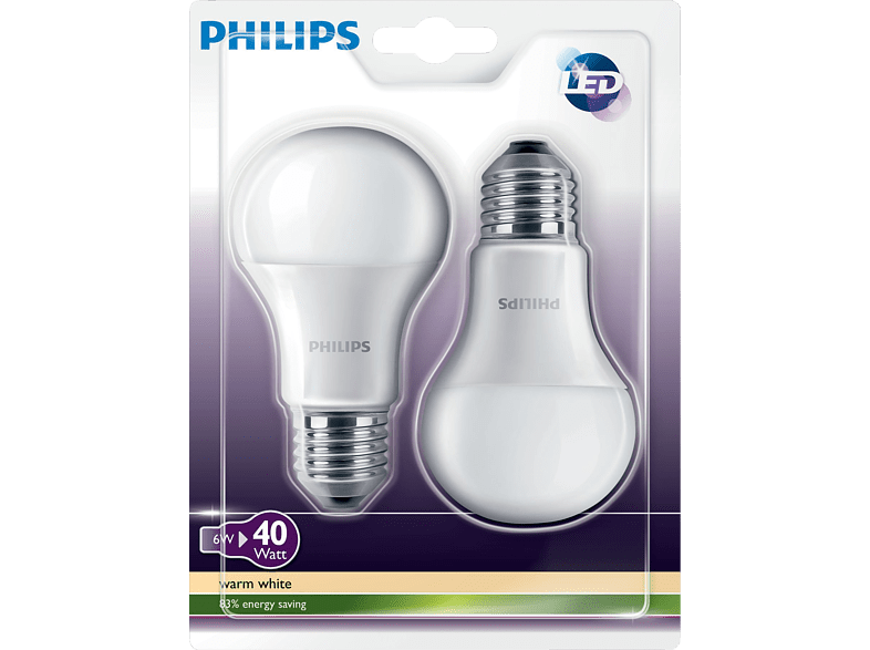 PHILIPS-49112600-LED-Leuchtmittel-6-Watt