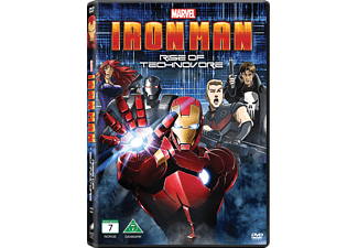 Iron Man: Rise of Technovore Animation / Tecknat DVD