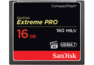 SANDISK CF Extreme Pro 16 GB 160 MB/s