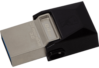 KINGSTON 64GB DT Micro Duo USB 3.0 USB Bellek DTDUO3/64GB