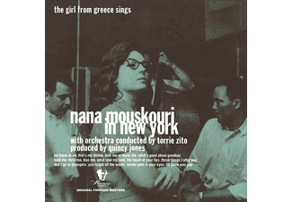 Nana Mouskouri -  In New York - The Girl From Greece Sings [Βινύλιο]
