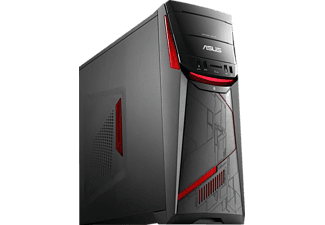 ASUS G11CD-K-DE015T, Gaming PC mit Core™ i7 Prozessor, 16 GB RAM, 1000 GB HDD, 256 GB SSD, GeForce GTX 1070, 8 GB