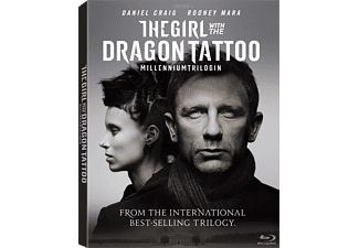 The Girl with the Dragon Tattoo Thriller DVD
