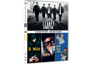 4 Movie Hip Hop/Rap Collection Box Drama DVD