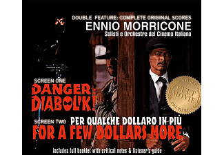 Solisti E Orchestre Del Cinema Italiano - Danger Diabolik / For a Few Dollars More (Diabolik / Pár dollárral többért) (CD)