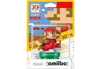 NINTENDO SMB Classic Bit Mario NFC Figure 30th Anniversary Collection - (021204)