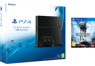 SONY PlayStation 4 Ultimate Player Edition - 1 TB inkl. Star Wars Battlefront