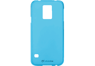 CELLULAR LINE 37226 Foggy, Backcover, Galaxy S5, Thermoplastisches Polyurethan, Blau