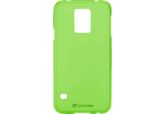 CELLULAR LINE 37233 Foggy, Backcover, Galaxy S5, Thermoplastisches Polyurethan, Grün