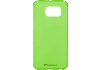 CELLULAR LINE 37228 Foggy, Samsung, Backcover, Galaxy S6, Thermoplastisches Polyurethan, Grün