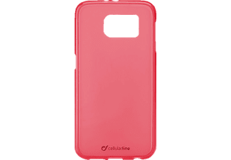 CELLULAR LINE 37246 Foggy, Samsung, Backcover, Galaxy S6, Thermoplastisches Polyurethan, Pink