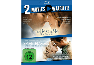 Pack: The Best of Me + Safe Haven - (Blu-ray)