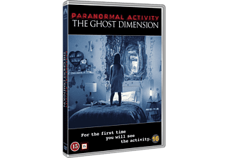 Paranormal Activity - The Ghost Dimension Skräck DVD