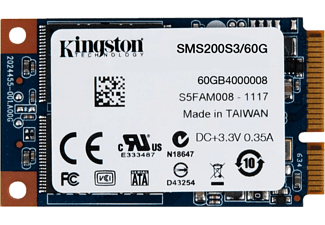 KINGSTON SSDNow 60GB 550MB-520MB/s mSATA SSD SMS200S3/60G
