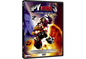 Spy Kids 3: Game Over Familj DVD