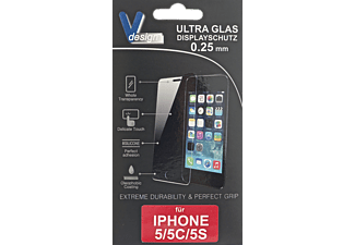 V-DESIGN VF 001 Schutzglas (Apple iPhone 5, iPhone 5s)